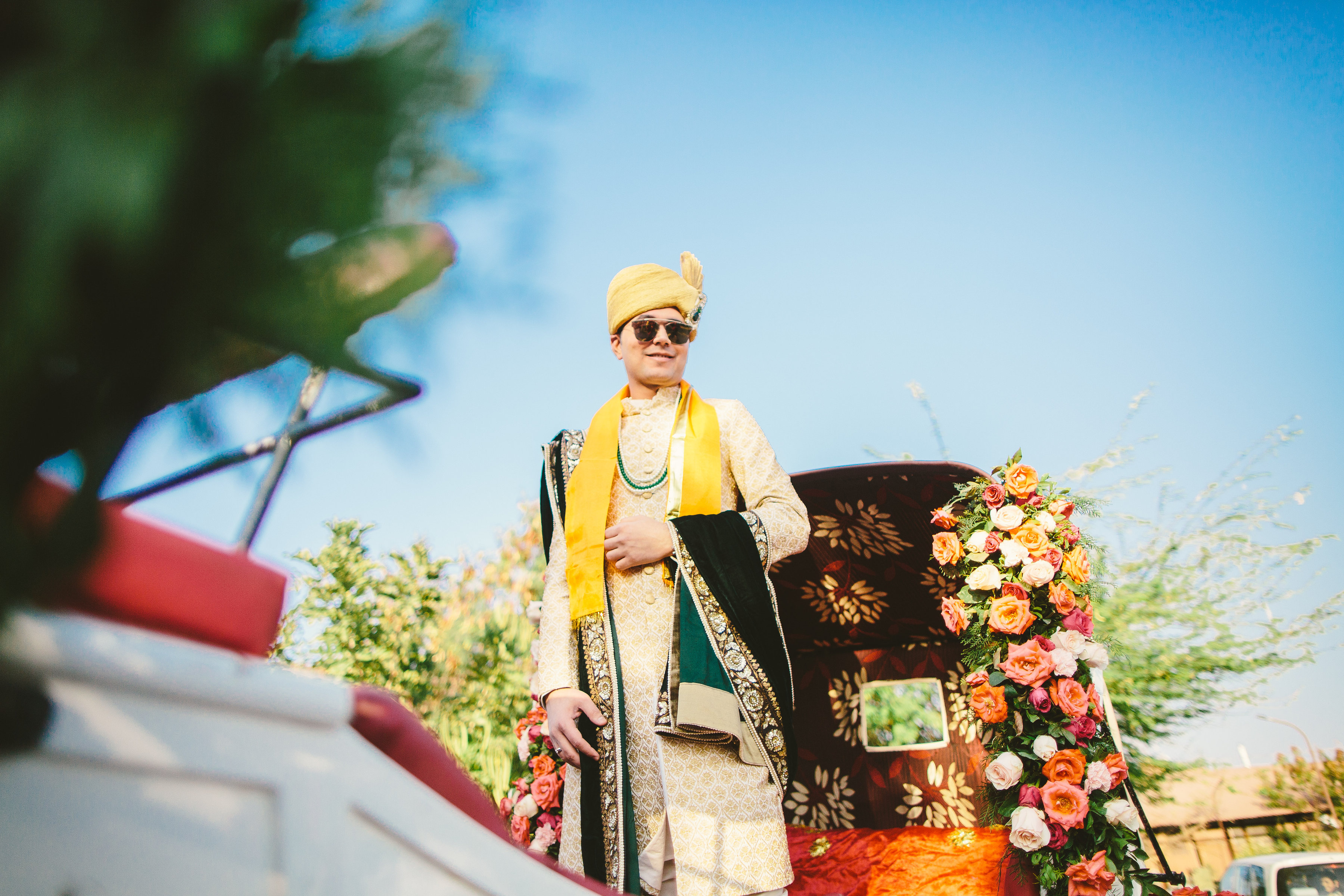 Chariot Groom Entry
