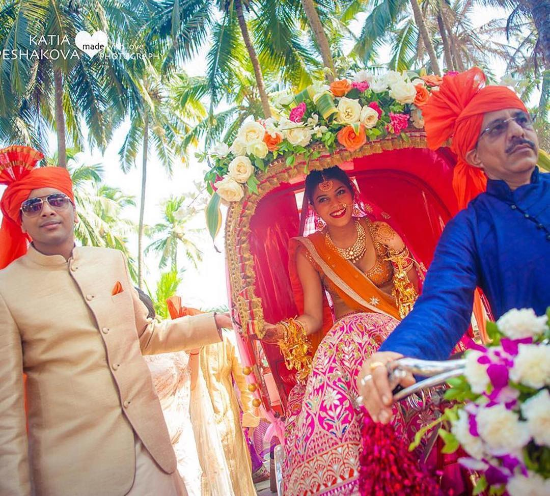 Wedding Photography - Rikshaw Entry