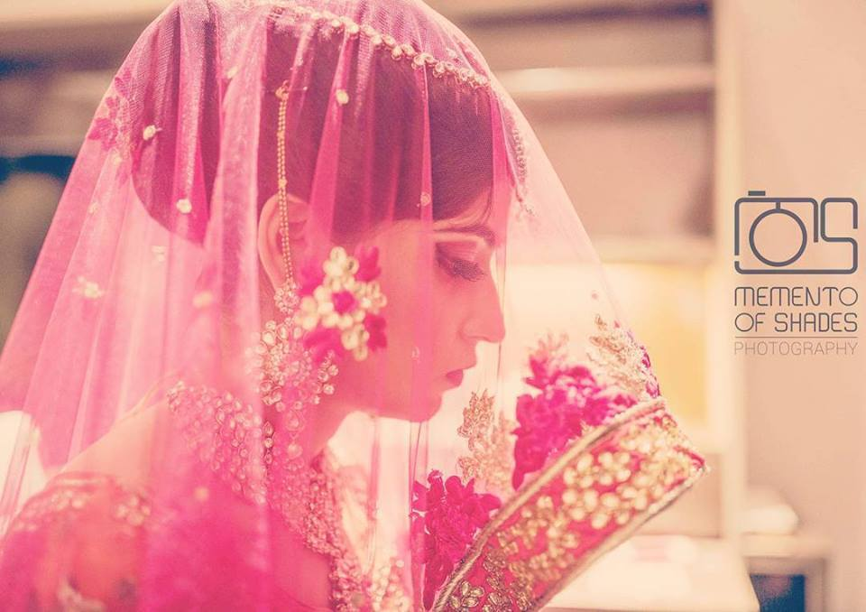 Wedding Photography poses bride in veil
