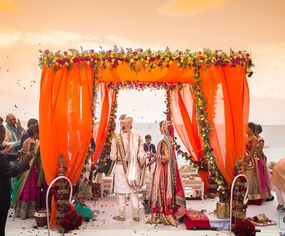 Beach Mandap Designs