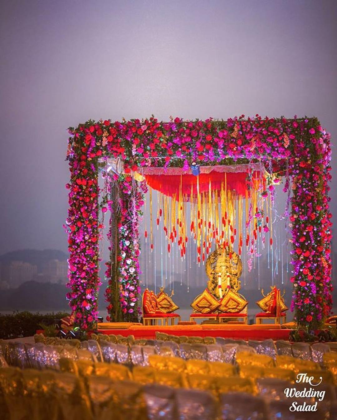 Flower Mandap Designs