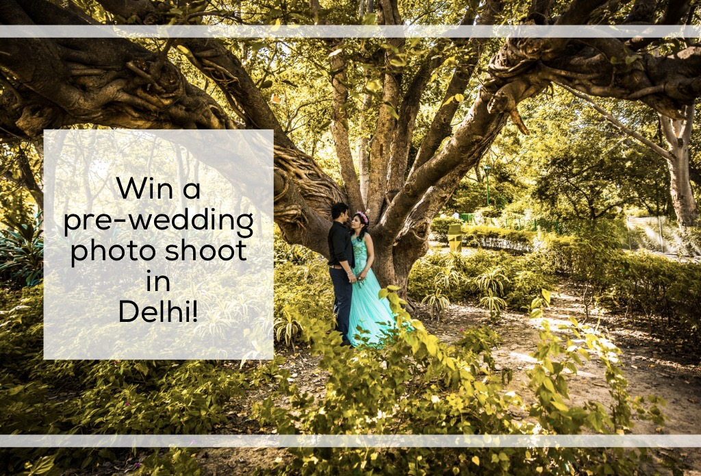 prewedding shoot giveaway
