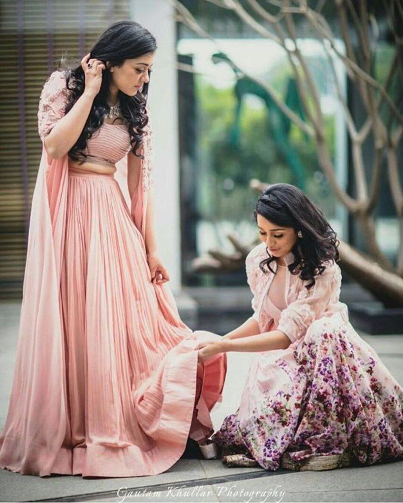 Indian Bridal Lehenga Shots