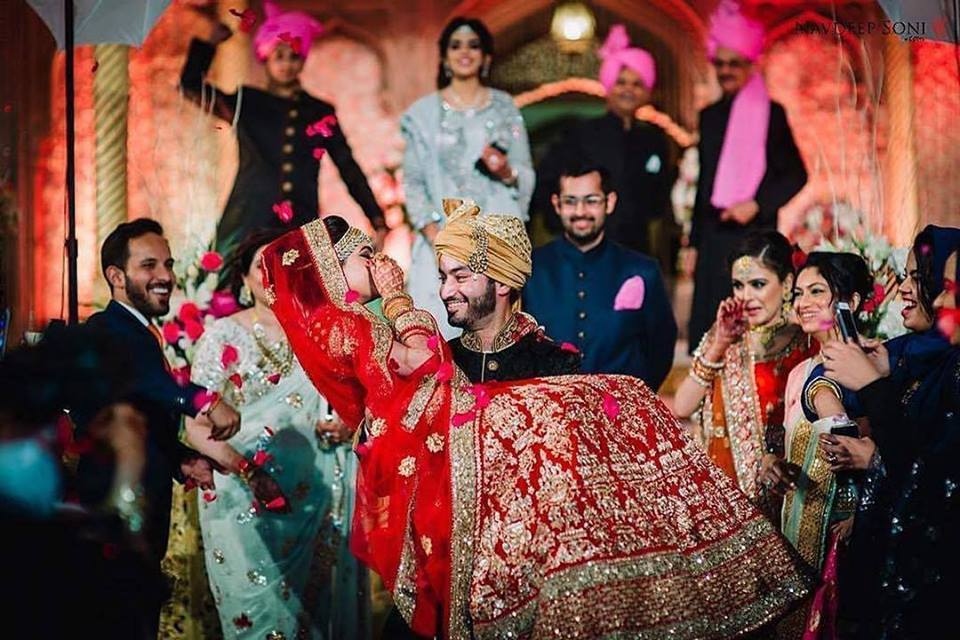 Indian Bridal Lehenga Shots