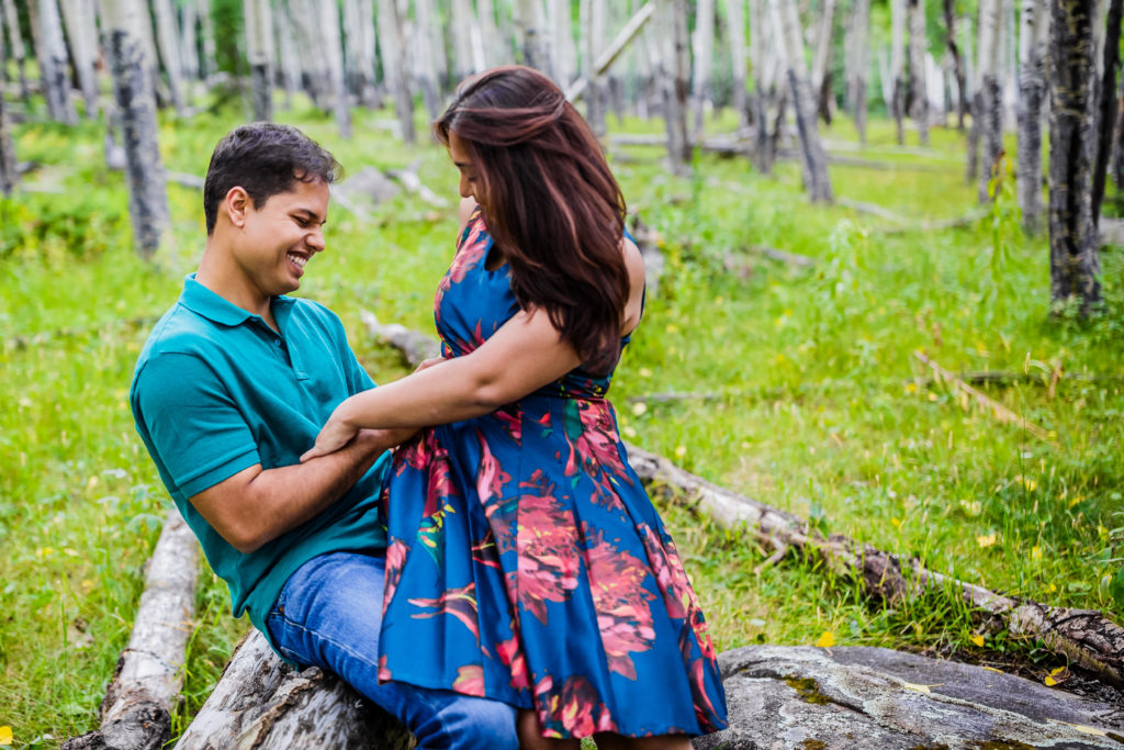 Pre Wedding Shoot Ideas Together Under The Stars Colorado Usa