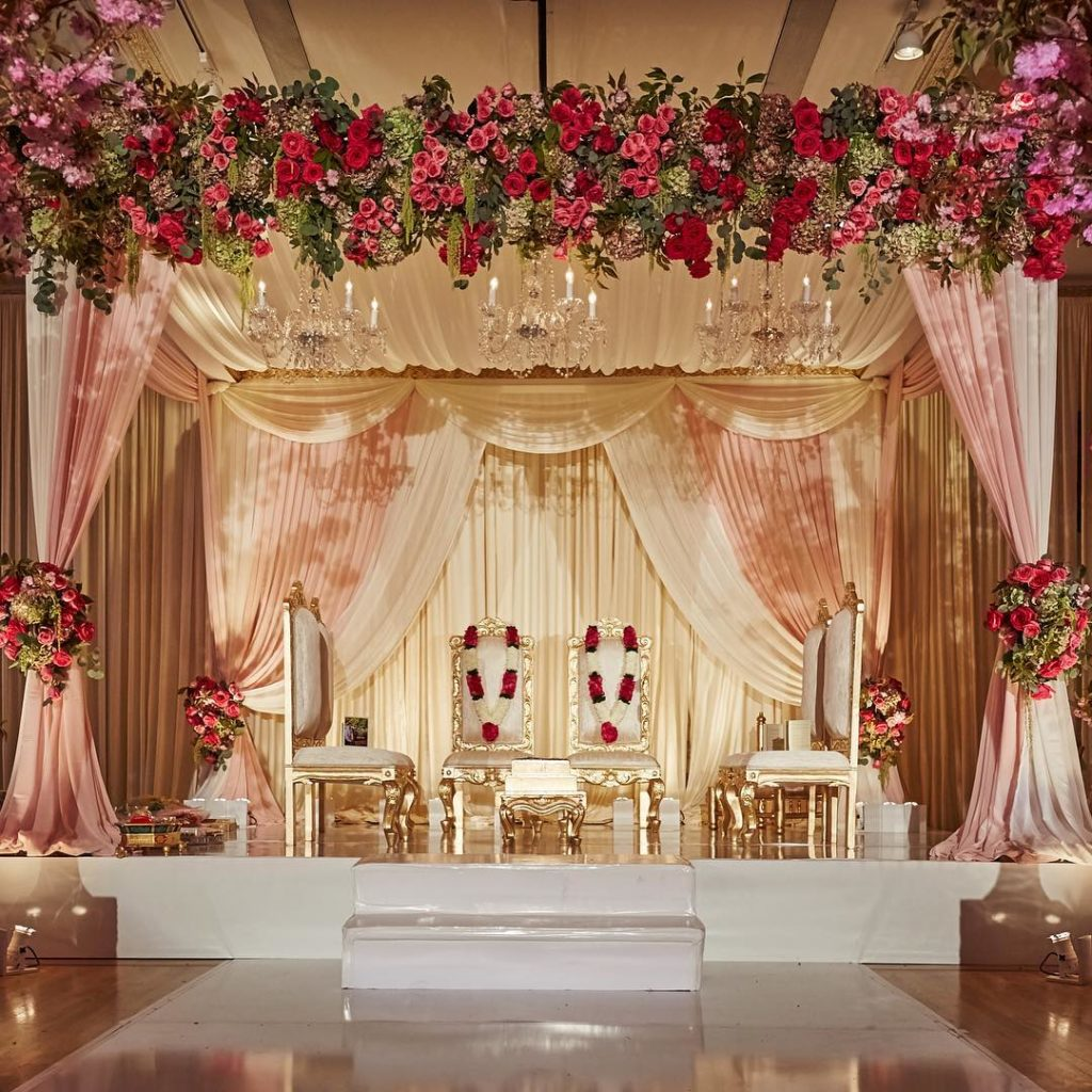 Indoor Wedding Themes: Stunning Mandap Decor Ideas For The Indoor Wedding