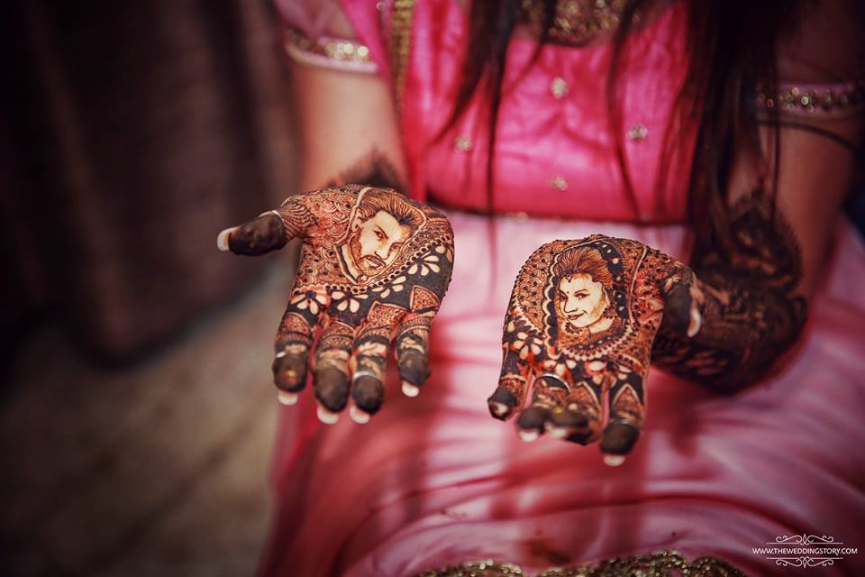 Image result for personalised wedding mehendi