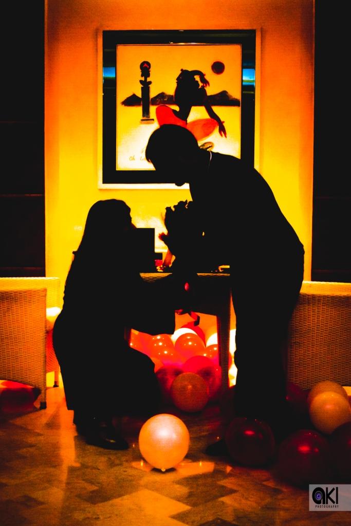 planning a surprise proposal