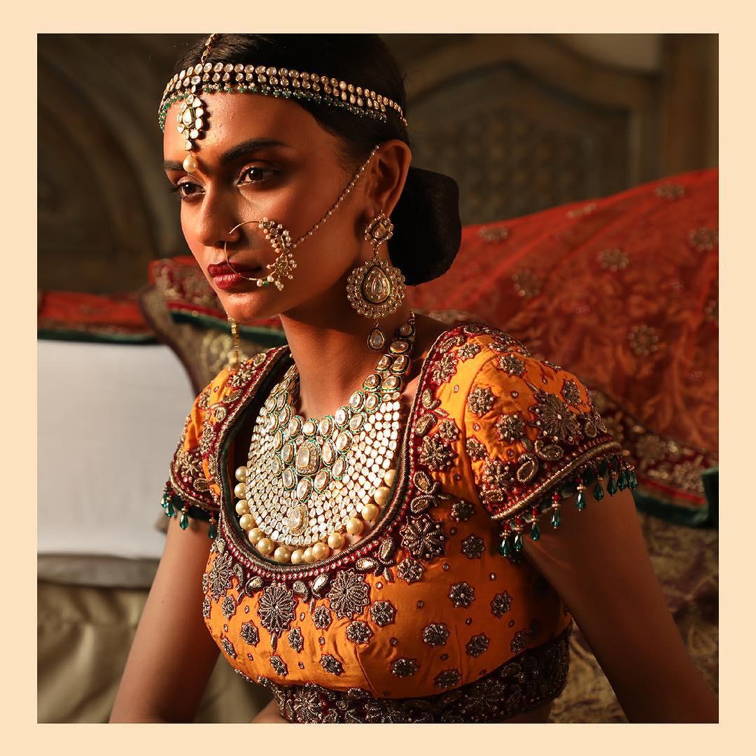 Kundan Wedding jewellery