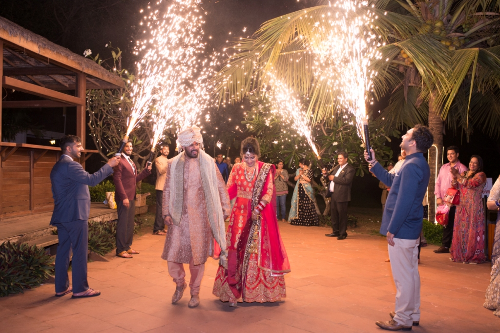 Goa Wedding Entry