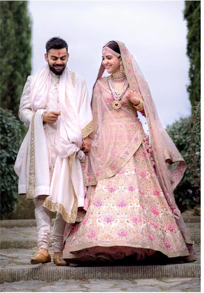 Virat Anushka Wedding pictures