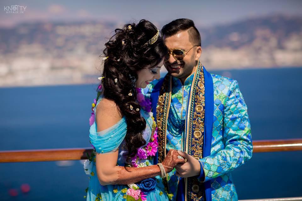 Wedding destination cruise wedding