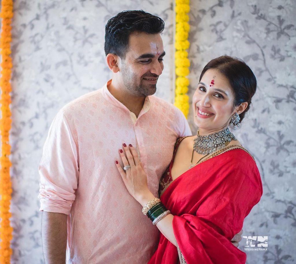 Zaheer Khan Wedding