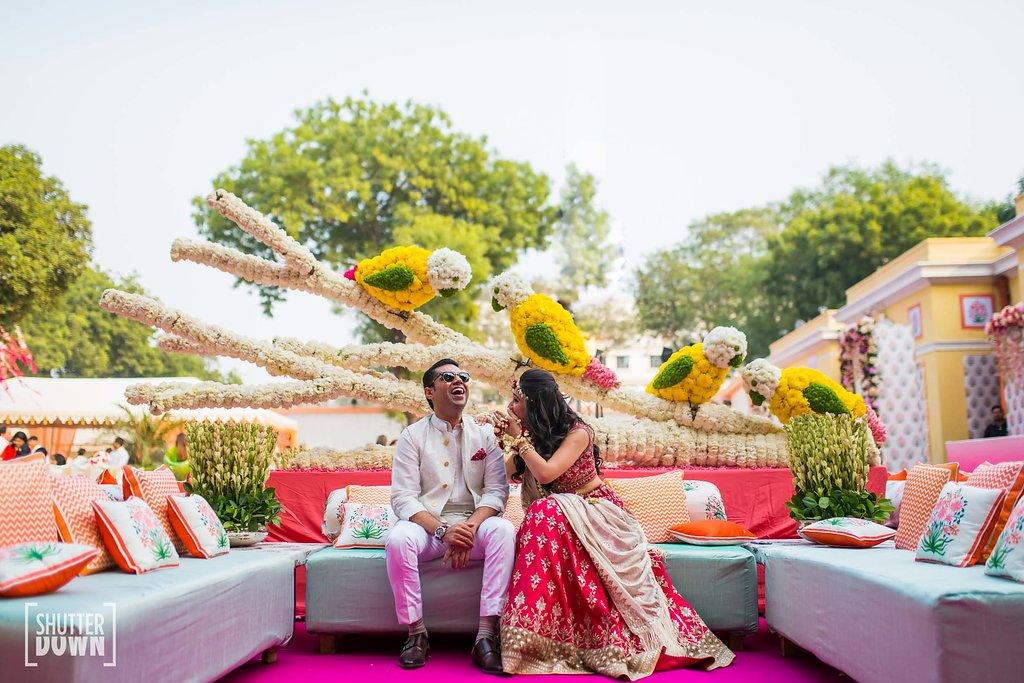 Wedding Decor Goals Rishika Akhils Gorgeous Pastel Wedding