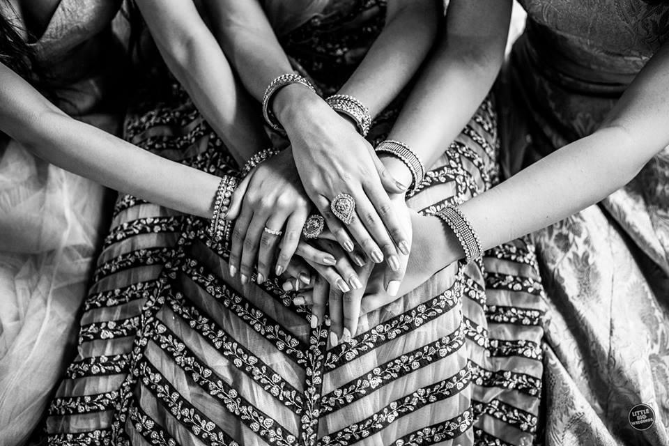 bridesmaids shoot