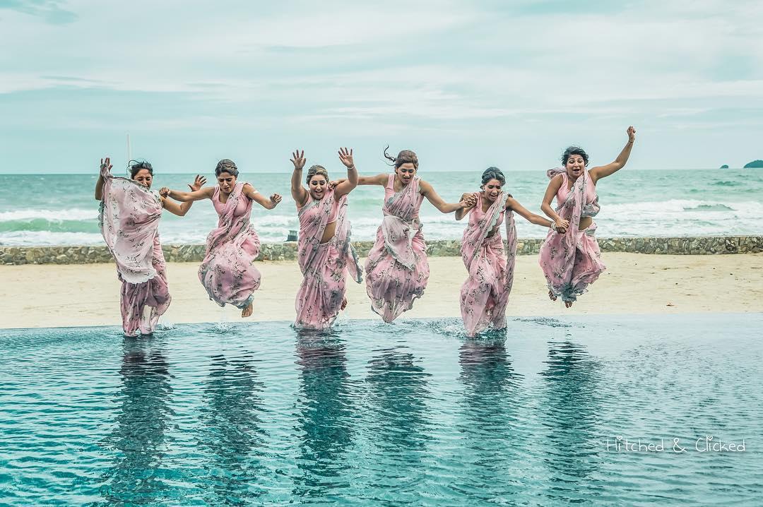 Bride & Bridesmaids