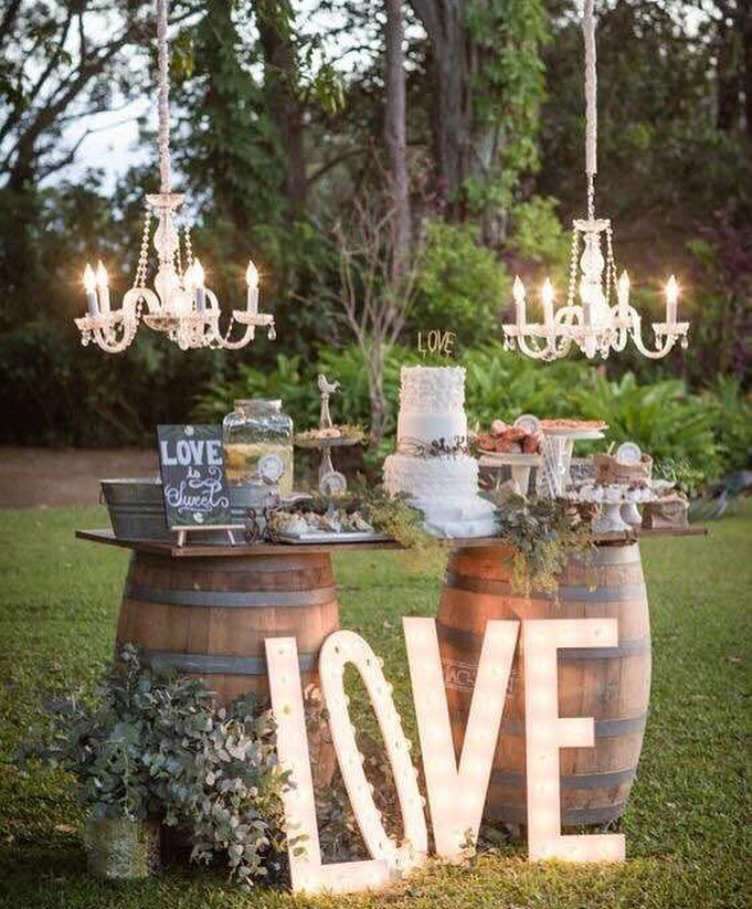 Bohemian Wedding Reception: Think Different & Move Over The