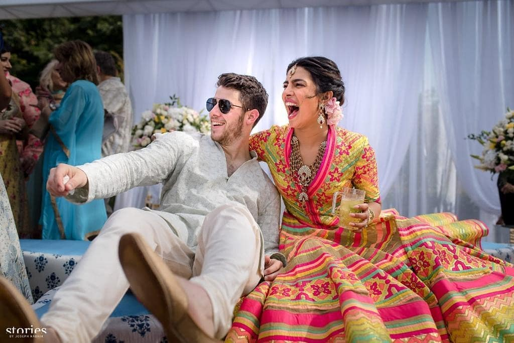 priyanka and nick mehendi