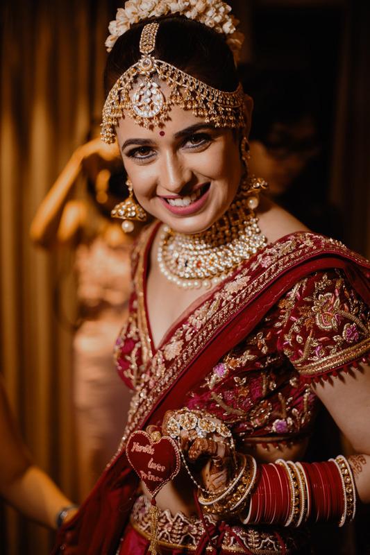 yuvika chaudhary inidan bride