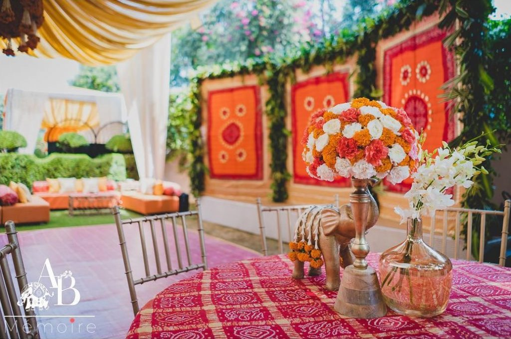 Mehendi Decor Ideas