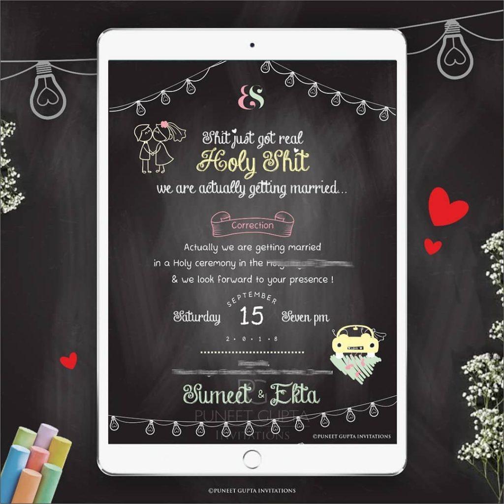 Wedding Invite Designs