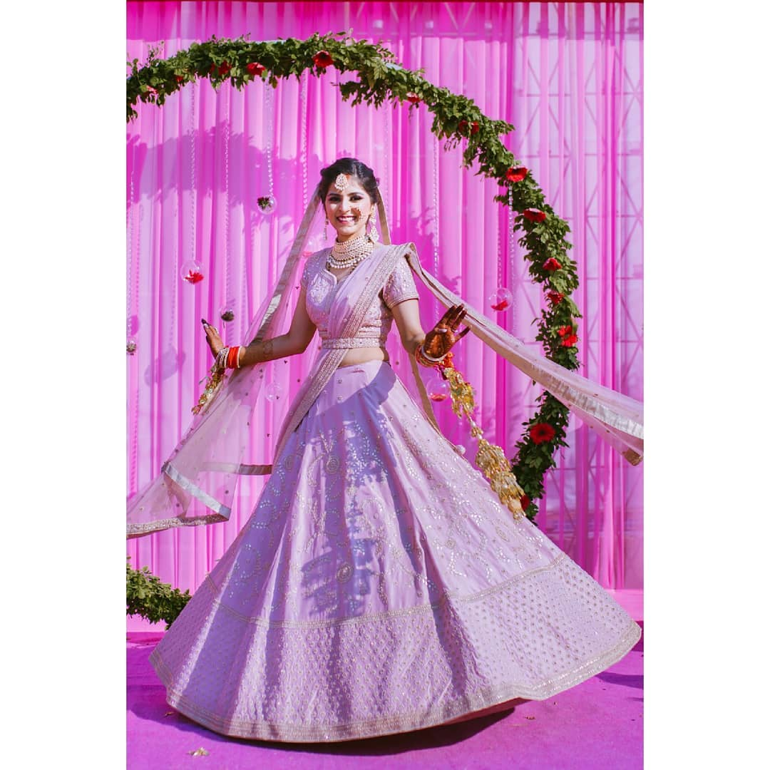 delhi wedding lehenga