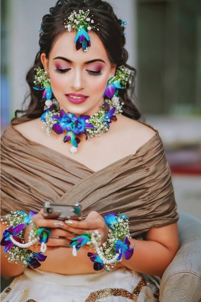 floral jewellery ideas
