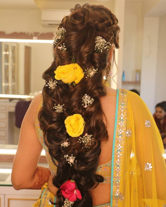 Bridal look for the Nikah day